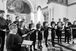 Vor Frelsers Kirkes Kor i sang