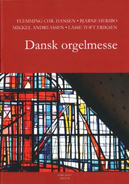 Omslaget til Dansk Orgelmesse