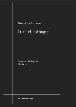 Omslaget til O, Gud, tal sagte